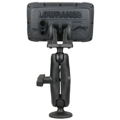 RAM® Composite Double Ball Mount for Lowrance Hook² Series - RAP-101-LO12 - OC Mounts