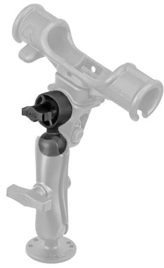 "RAM ROD® Male Ratchet Adapter with 1.5"" Ball - RAM-114BTU - OC Mounts"
