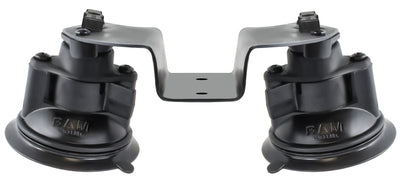 RAM® Dual Articulating Suction Cup Base - RAM-189B-PIV1U - OC Mounts