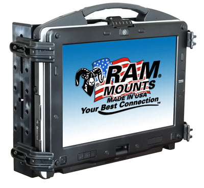 RAM Universal Laptop Tough-Tray™ Cradle - RAM-234-3 - OC Mounts