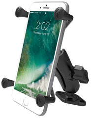 "RAM 1"" Ball Mount with Diamond Base & Universal RAM® X-Grip® Large Phone/Phablet Cradle - RAM-B-102-UN10U"
