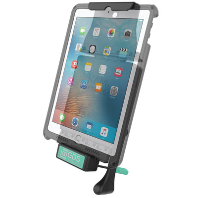 GDS® Locking Vehicle Dock for Apple iPad Air 2, Pro 9.7 & 5th Gen - RAM-GDS-DOCKL-V2-AP8U - OC Mounts