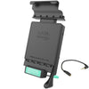 GDS® Locking Vehicle Dock with Audio Jumper Cable for the Samsung Galaxy Tab E 8.0 - RAM-GDS-DOCKL-V2-SAM21-AUD1U - OC Mounts