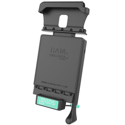 GDS® Locking Vehicle Dock for the Samsung Galaxy Tab Active2 - RAM-GDS-DOCKL-V2-SAM29U - OC Mounts