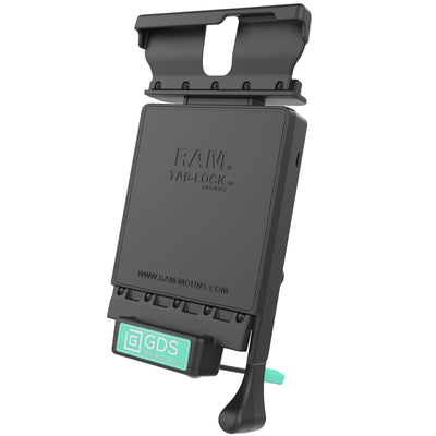 GDS® Locking Vehicle Dock for the Samsung Galaxy Tab S 8.4 - RAM-GDS-DOCKL-V2-SAM9U - OC Mounts