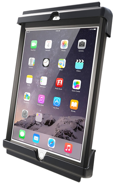 "RAM Tab-Tite™ Cradle for the iPad Air 1-2 & 9.7"" & Galaxy Tablets WITH CASE, SKIN OR SLEEVE - RAM-HOL-TAB20U - OC Mounts"