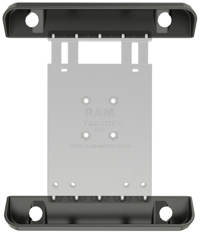 RAM Tab-Tite™ Cradle (2 qty) Cup Ends for the Apple iPad 1-4 WITH OR WITHOUT LIGHT DUTY CASE - RAM-HOL-TAB3-CUPSU - OC Mounts