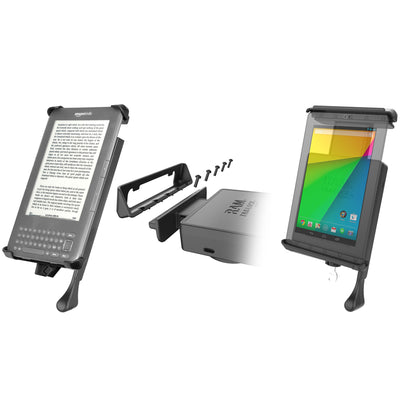 "RAM Tab-Lock™ Locking Cradle for 7"" Screen Tablets - RAM-HOL-TABL-SMU - OC Mounts"
