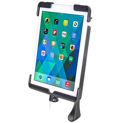 RAM TAB DOCK-N-LOCK™ Model Specific Sync & Lock Cradle for the Apple iPad mini 1-3 WITHOUT CASE, SKIN OR SLEEVE - RAM-HOL-TABL11U - OC Mounts
