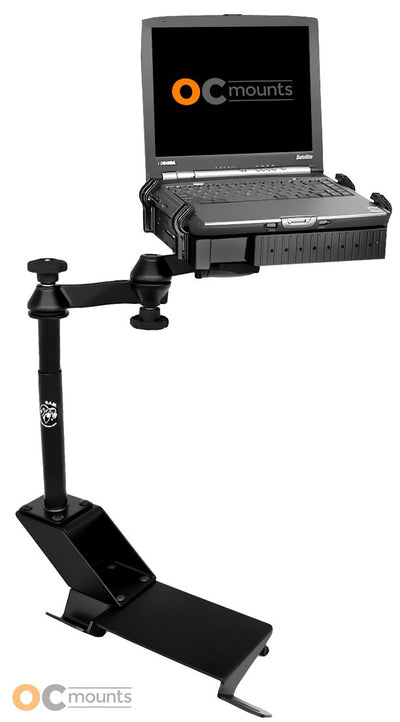No Drill Laptop Mount for 1997-2017 Ford Expedition, 1997-2003 F150 and 1997-2004 F250 - RAM-VB-110-SW1 - OC Mounts