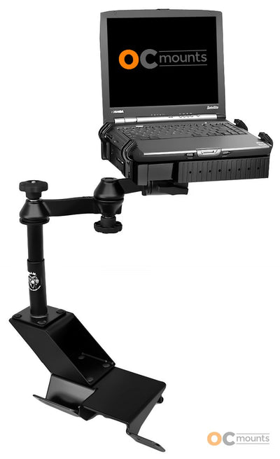 No Drill Laptop Mount for 2000-2012 Ford Ranger, 2000-06 Explorer Sport Trac - RAM-VB-113-SW1 - OC Mounts