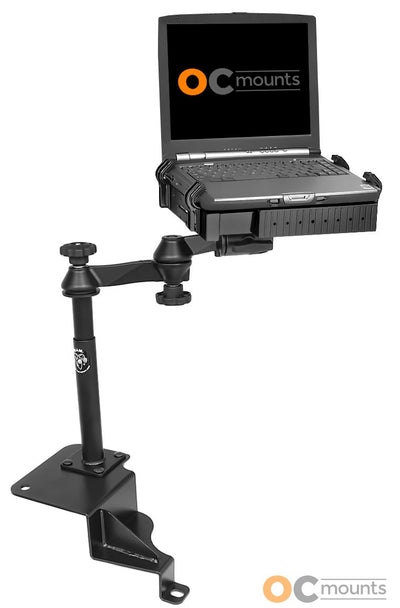 No Drill Laptop Mount for 2007-2011 Dodge Nitro and 02-2012 Jeep Liberty - RAM-VB-141-SW1 - OC Mounts