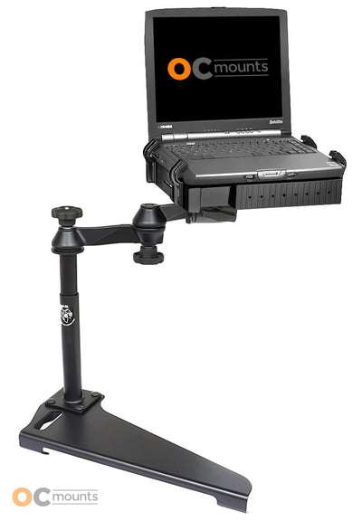 No Drill Laptop Mount for 2001-2012 Ford Escape, 05-10 Mazda Tribute and 05-10 Mercury Mariner - RAM-VB-152-SW1 - OC Mounts