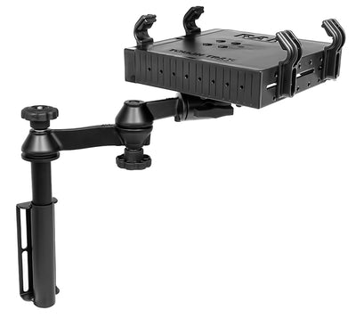 Universal Vertical Flat Surface Drill Down Vehicle Mount for Engine Covers, Center Console Boxes - RAM-VB-181-SW1 - OC Mounts