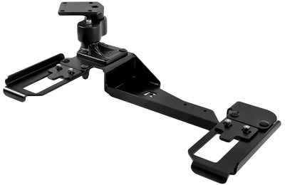 No Drill Laptop Mount for 2006-2016 Chevy Impala Police Package, 08-09 Powered Seats - RAM-VB-182-SW1 - OC Mounts