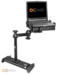 No Drill Laptop Mount for 2015-2015 Chevy Silverado 1500 Work Truck with Bench Seat Only - RAM-VB-191-SW1