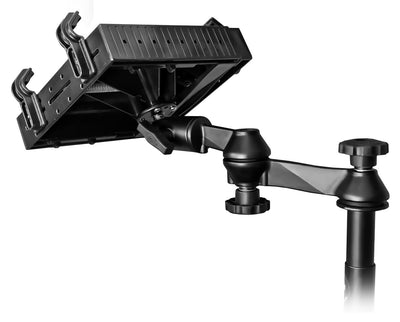 No Drill Laptop Mount for 2015-2018 Chevy City Express, 2010-18 Nissan NV200 S and Nissan NV200 SV Compact Cargo - RAM-VB-192-SW1 - OC Mounts