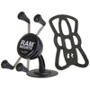 RAM Lil Buddy™ Adhesive Stick Base Mount with Universal RAM® X-Grip® Cell Phone Cradle - RAP-SB-180-UN7U - OC Mounts