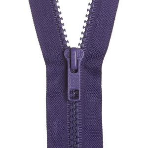 Chunky Open End Zip - Solids