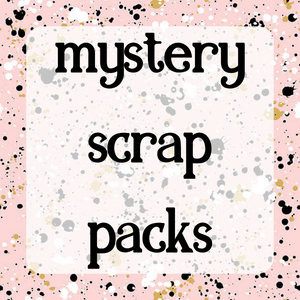 Fat Quarter Mystery Scrap Pack - ADULTS ONLY