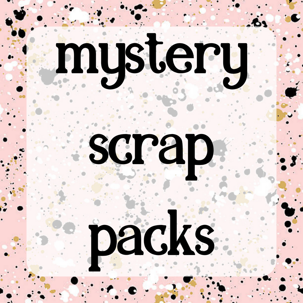 Small Mystery Scrap Pack - ADULTS ONLY