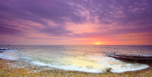 'Southern Most Point Sunrise in Late Winter'  Canvas Print - £50 to £80