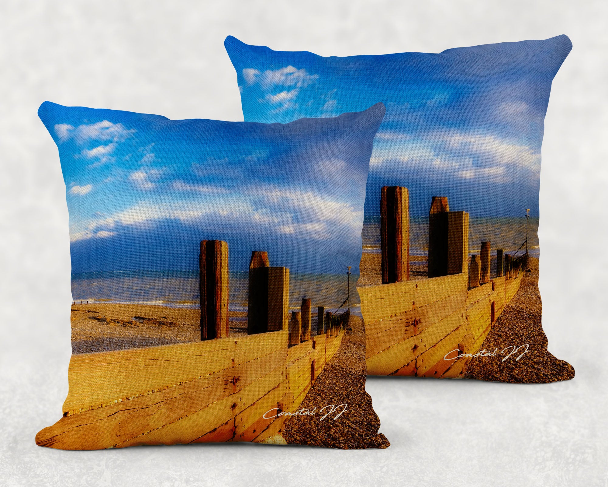 'A Warm Evening in Spring' - Large Sofa Cushion