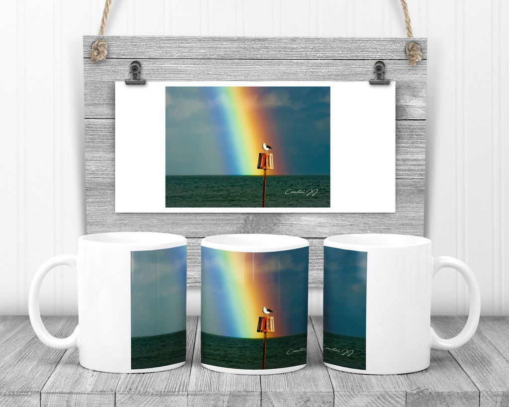 'Rainbow's End' - 11oz Ceramic Mug