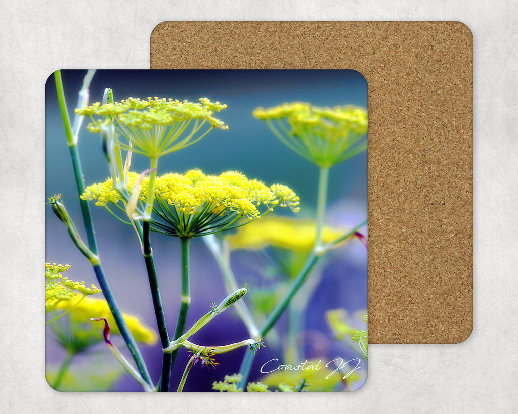 'Seashore Fennel' -  Single Square Placemat