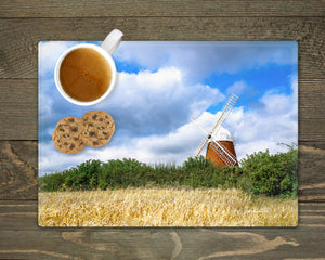 'Halnaker in High Summer' - Worktop Saver and Place Mat