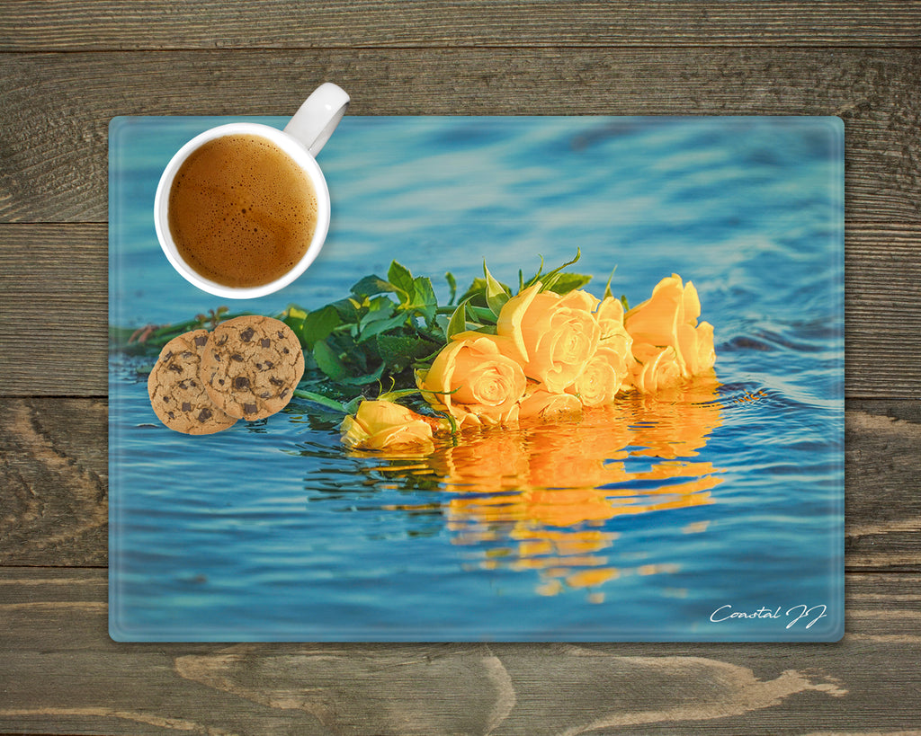 'Bouquet in the Shallows' - Worktop Saver and Place Mat