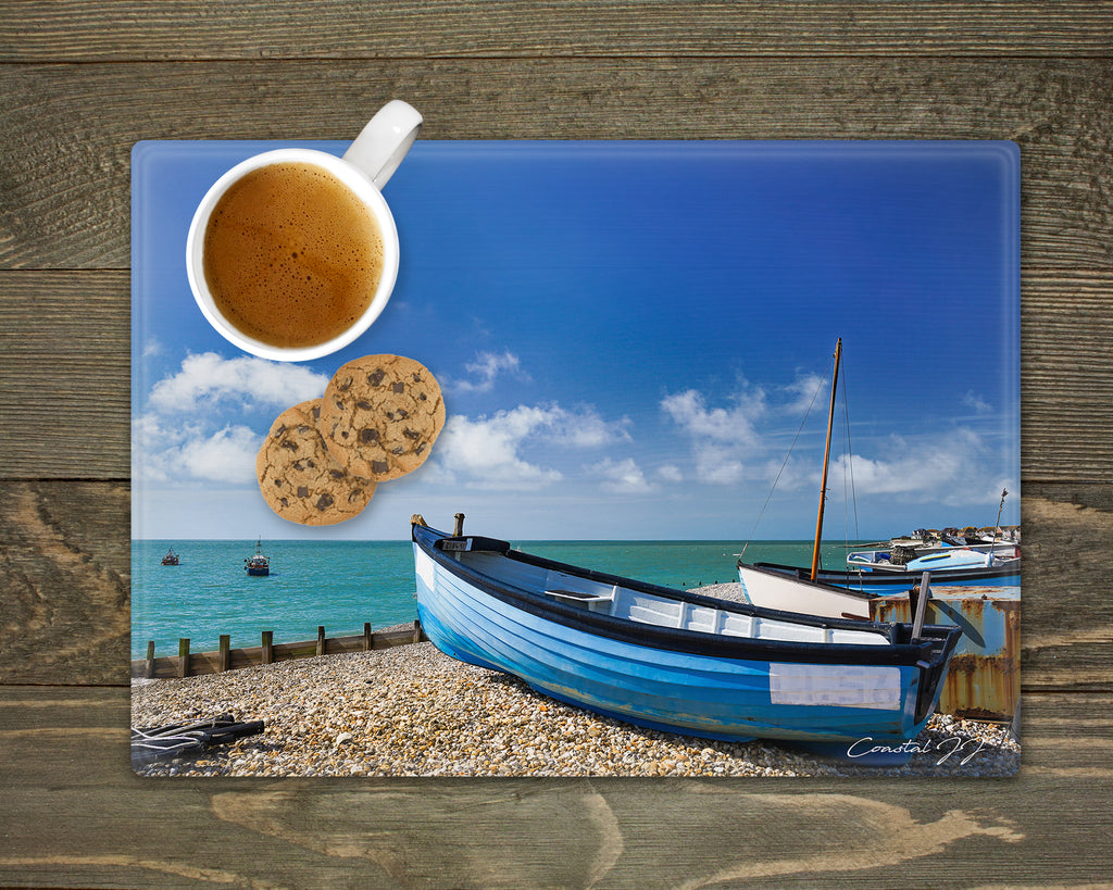 'Blue is the Colour' - Worktop Saver and Place Mat
