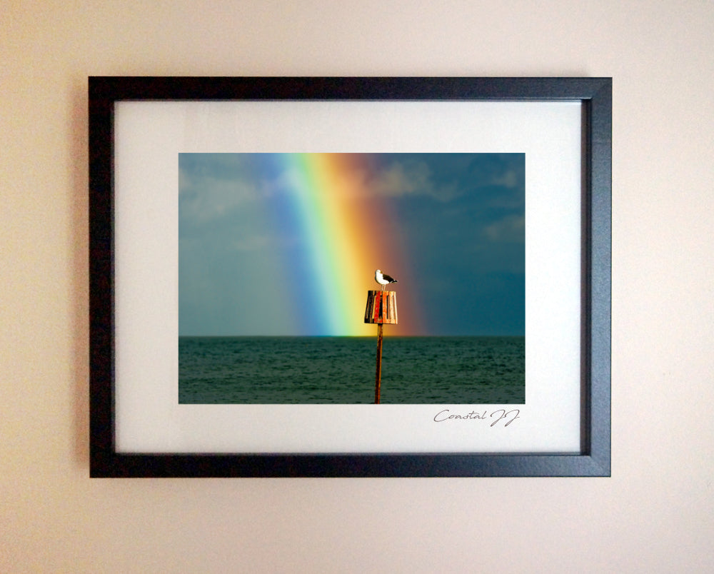 'Rainbow's End' Framed Print - £40