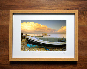 'Dream Catcher Sunset' Framed Print