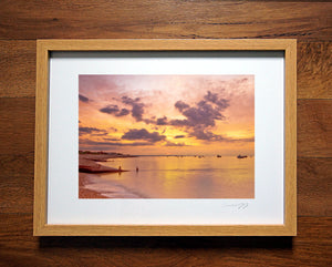 'Just before Dawn' Framed Print - £40