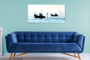 'Heading Home' Canvas Print - £45 to £80