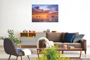 September Tranquillity' Canvas Print - £55 to £75