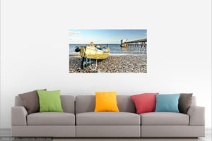 'Spring at the Old Lifeboat Station' Canvas Print - £45 to £80