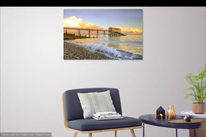 'Cumulus Sunset' Canvas Print