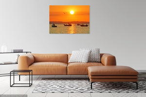 'Sunrise Serenity' Canvas Print