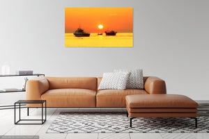 ' Tranquillity on a Summer's Dawn' Canvas Print