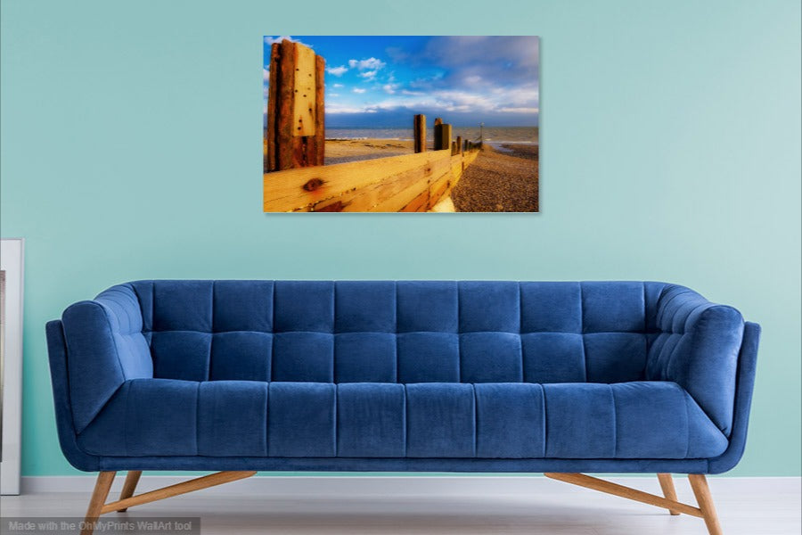 'A Warm Evening in Spring' Canvas Print