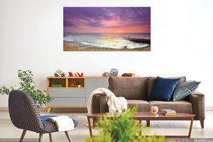 'Southern Most Point Sunrise in Late Winter'  Canvas Print