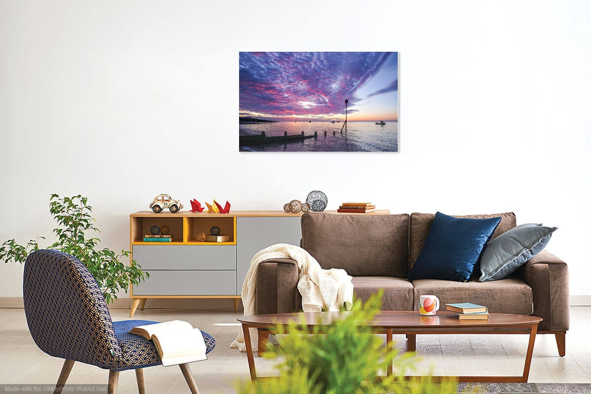 'Shortly Before Sunrise' Canvas Print