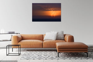 'Golden Flash' Canvas Print