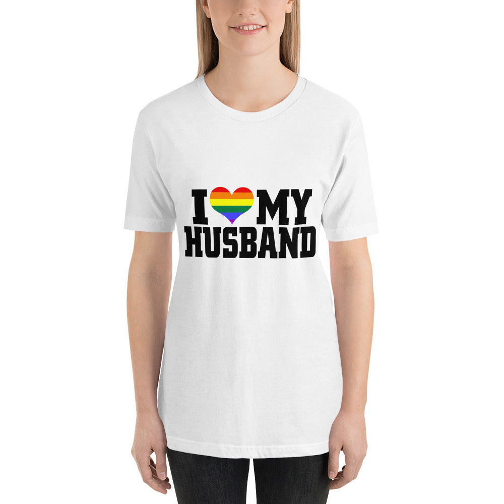 I Love my Husband Heart T-Shirt
