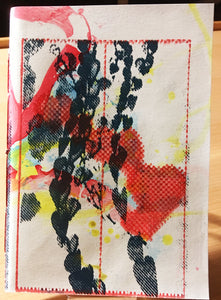 Mixed media cover journal