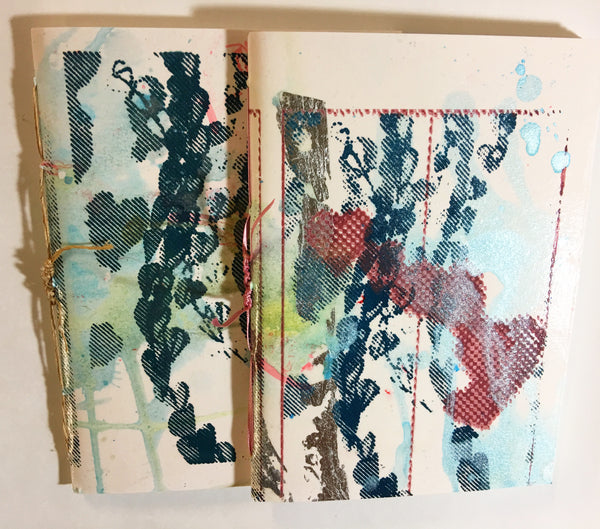 Set of 4 mixed media cover sketchbooks