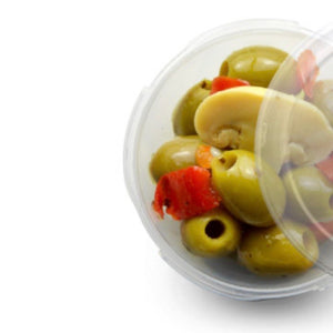 Boscaiola Green Pitted Olives 180g