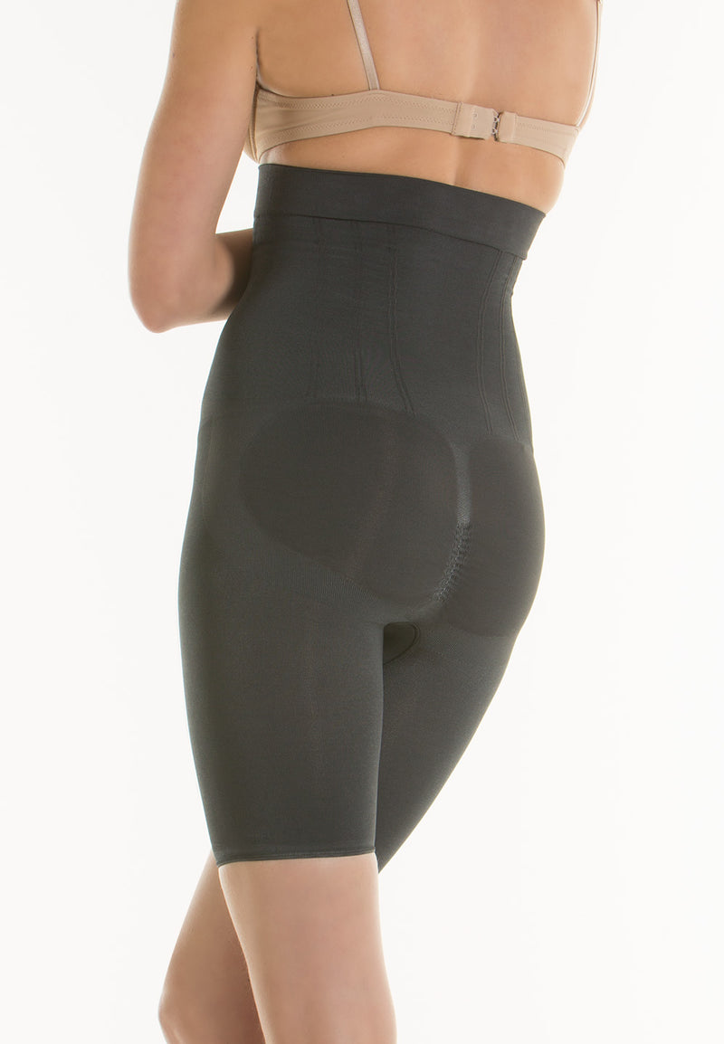 ATOM GOLD High Waisted Push-Up Control and Moisturizing Shorts